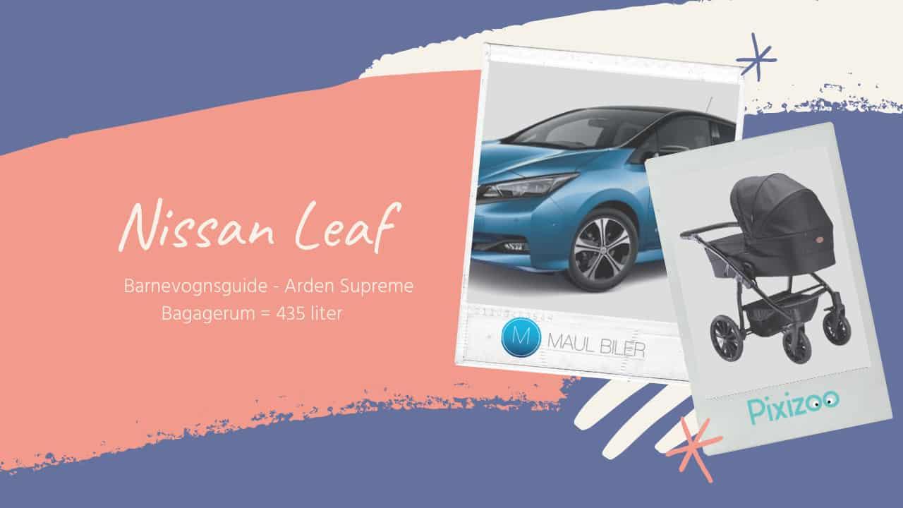 Barnevognsguide - Nissan Leaf