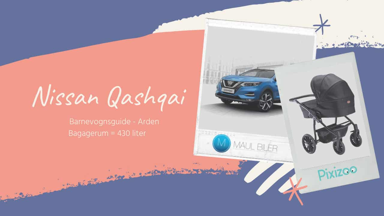 Barnevognsguide - Nissan Qashqai