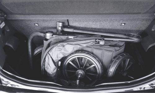 Skoda Citigo - lille bil med plads til en barnevogn