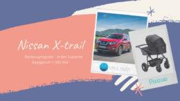 Barnevognsguide - Nissan x-trail