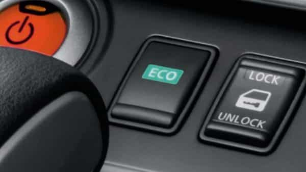 Eco-mode Nissan E-NV200