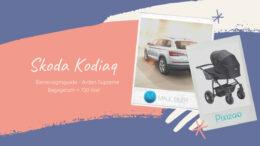Skoda kodiaq 7.personers barnevognsguide