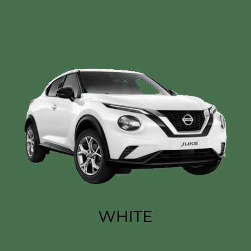 Nissan Juke white
