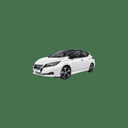 Nissan Leaf hvid