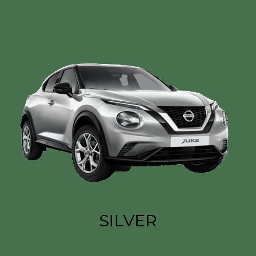 Nissan Juke silver