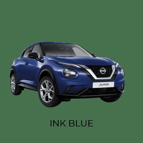 Nissan Juke blå