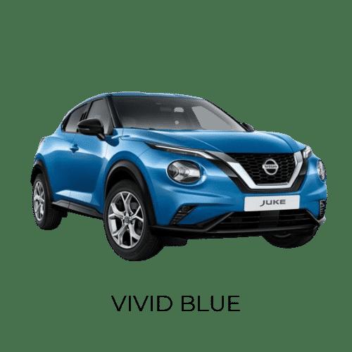 Nissan Juke vived blue