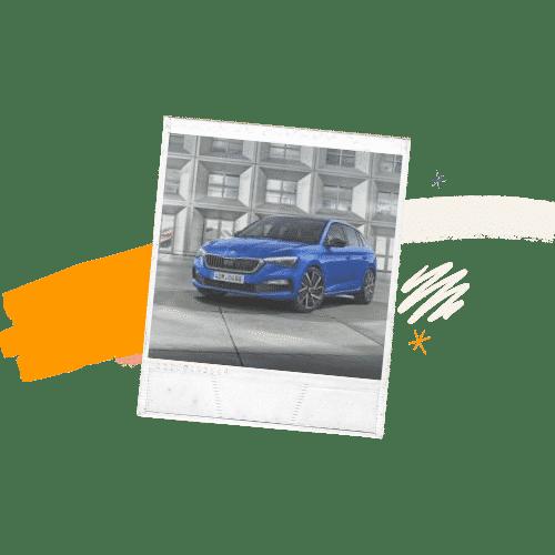 Mellemklasse bil