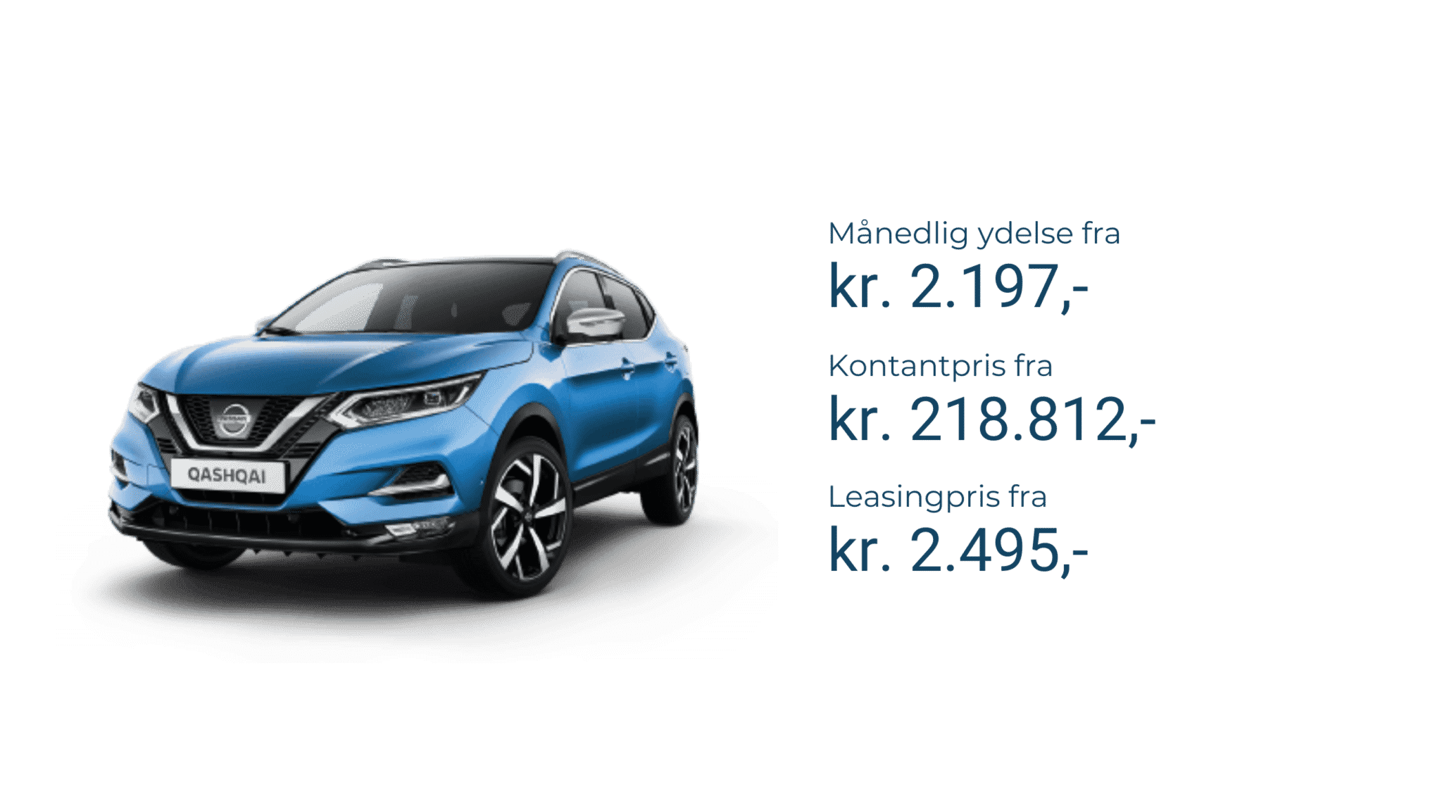 Nissan qashqai leasingpris