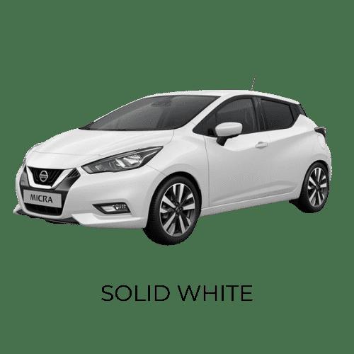 SOLID WHITE - Micra