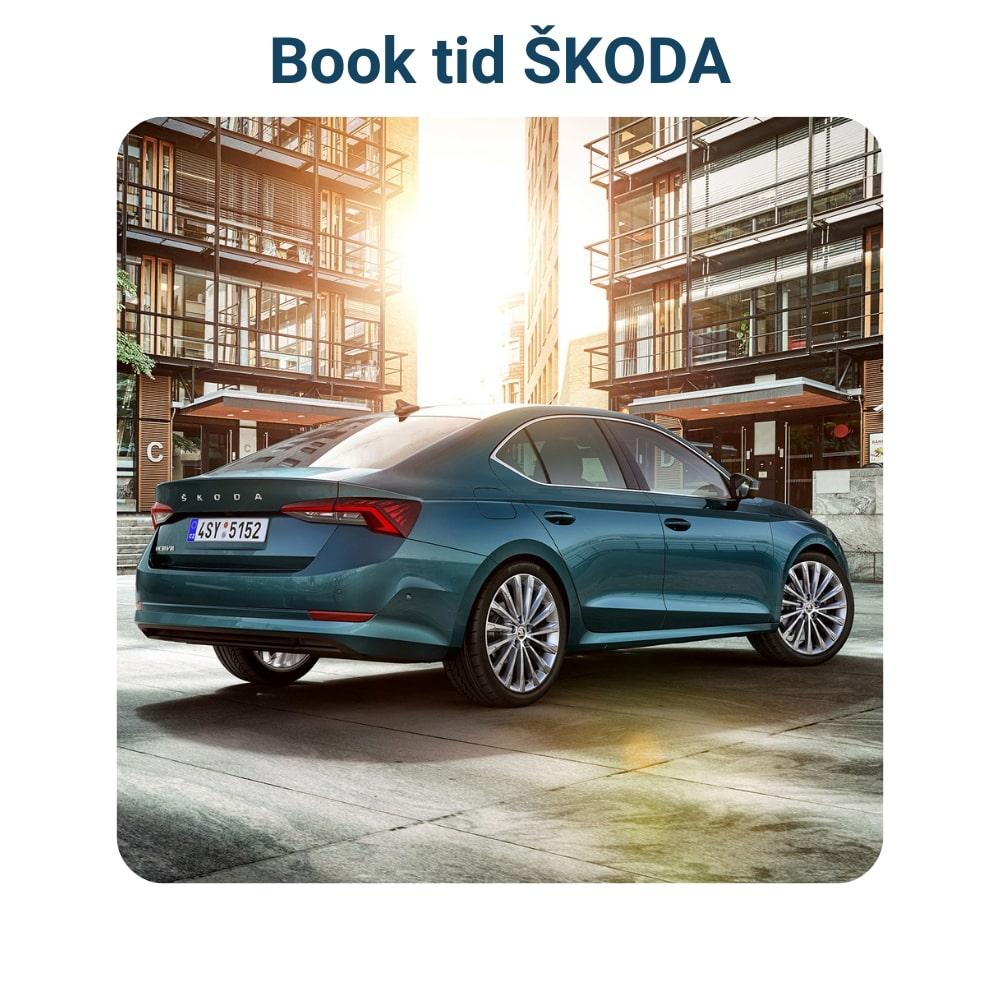 Book tid til værksted - Skoda