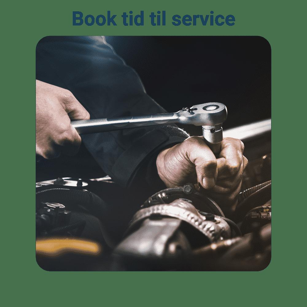 Book tid til service - Nissan værksted