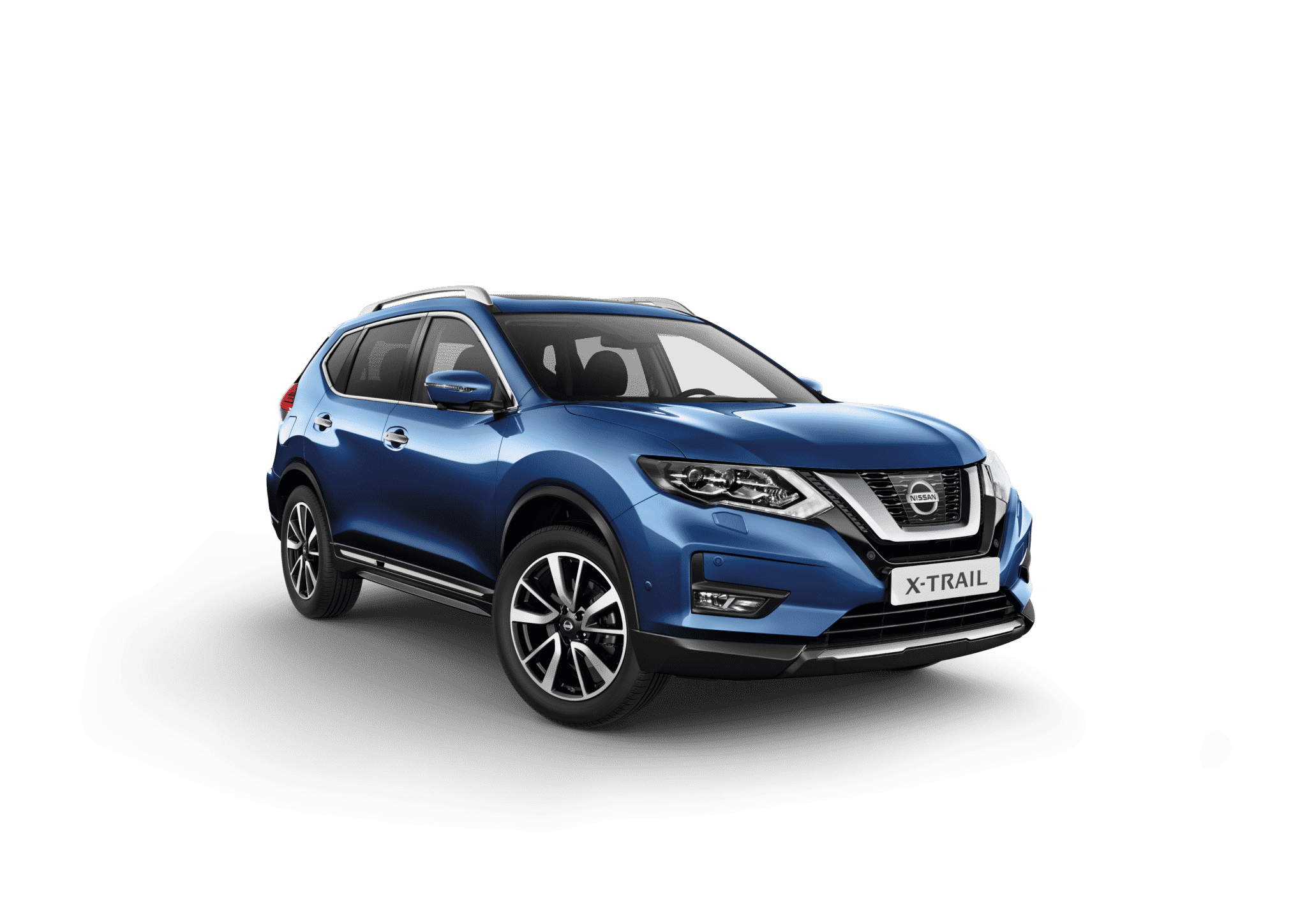 Nissan x-trail blå
