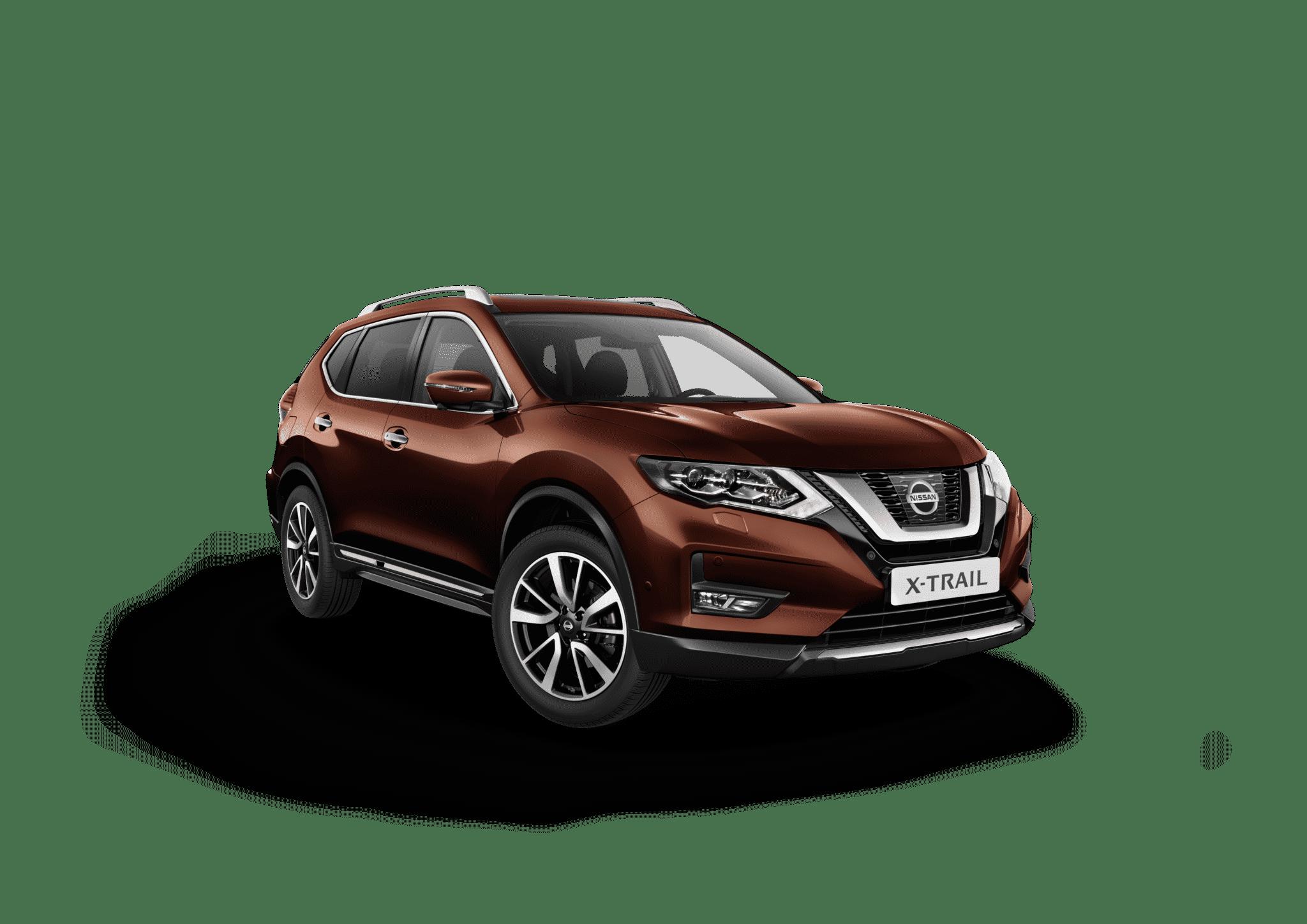 Nissan x-trail brun