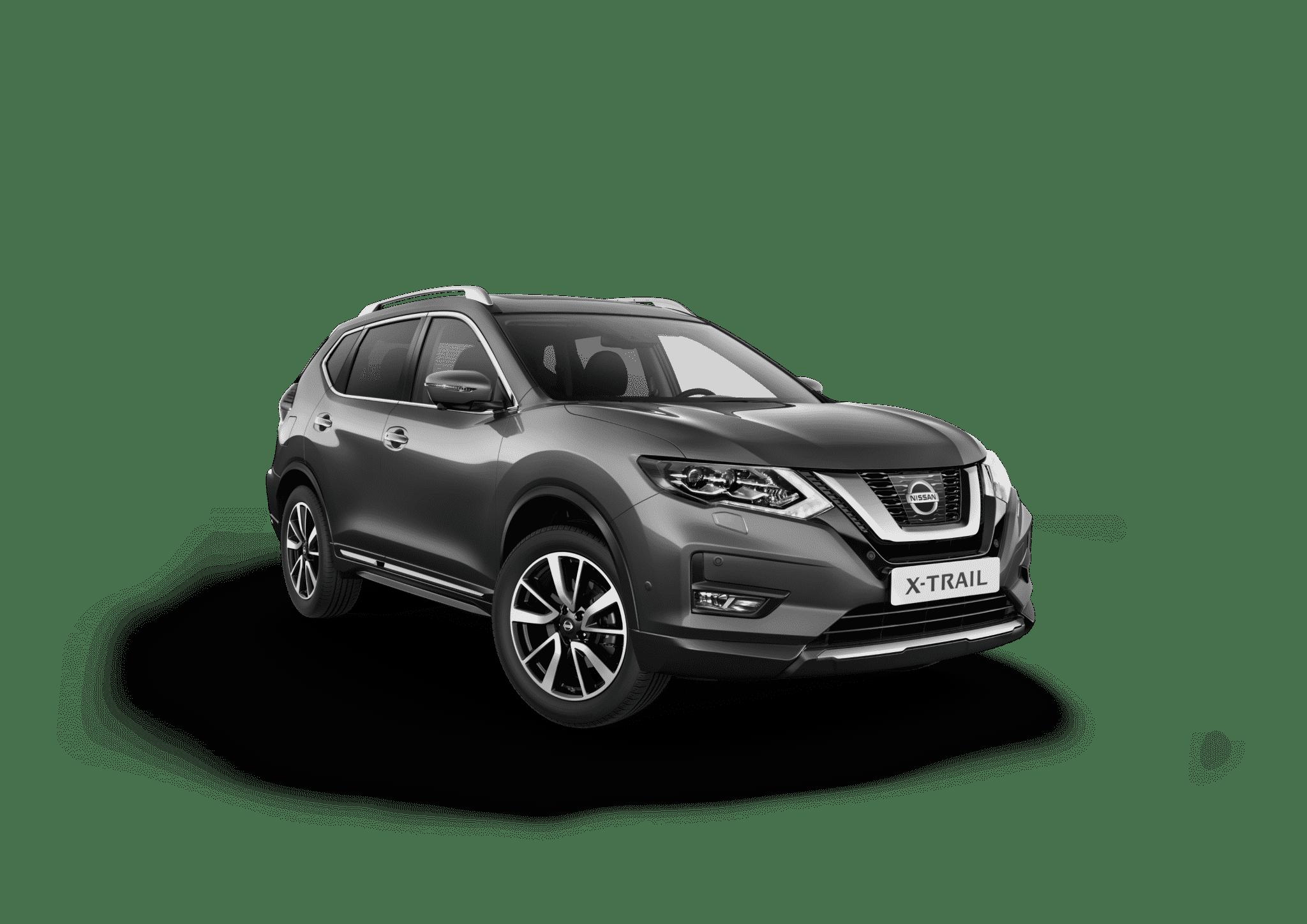 Nissan x-trail koksgrå