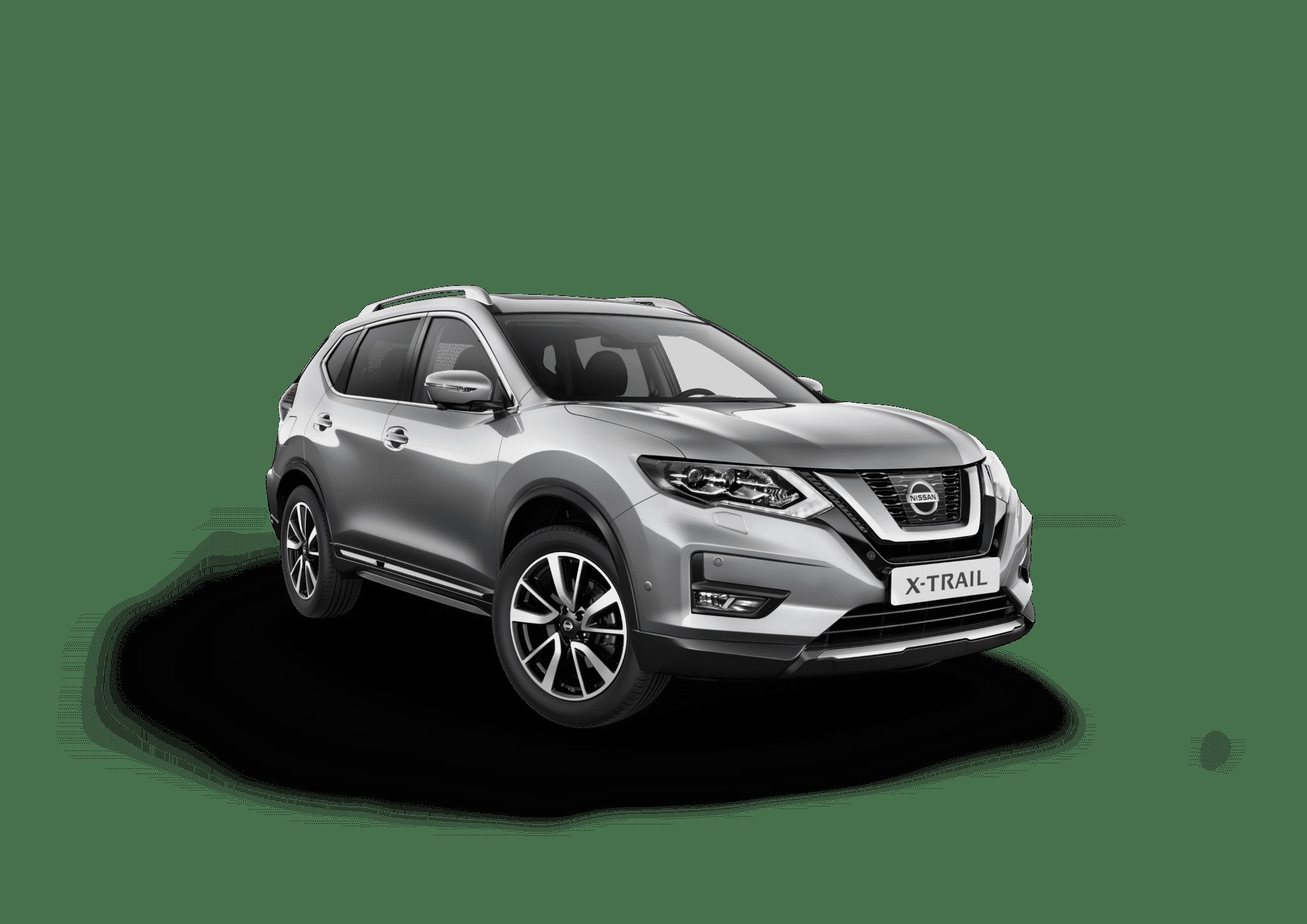 Nissan x-trail sølv
