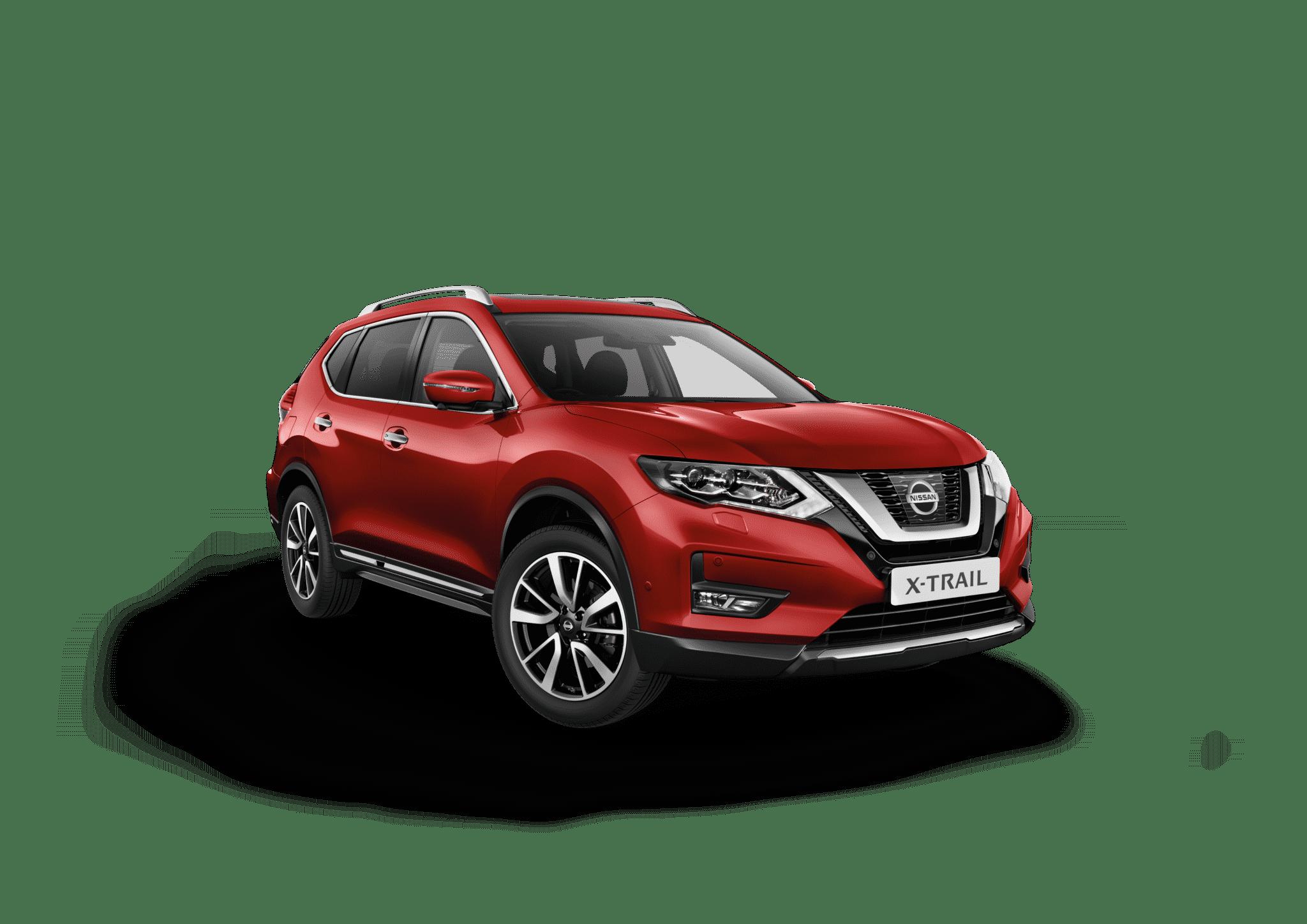 Nissan x-trail rød