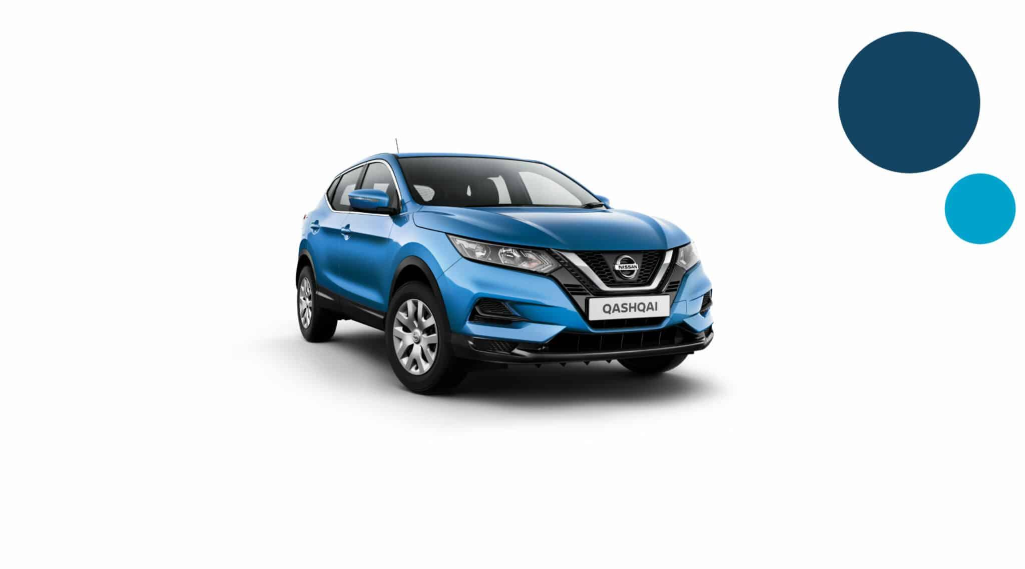 Nissan Qashqai - korttidsleasing