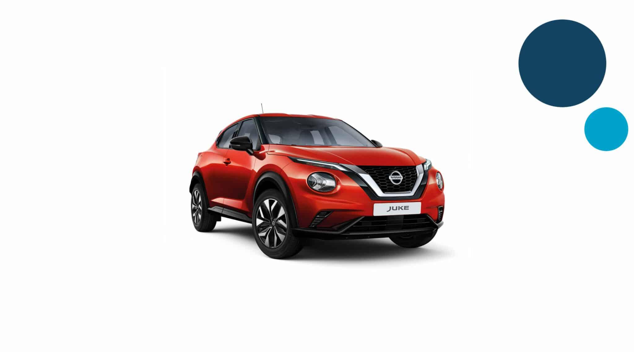 Nissan juke - korttidsleasing